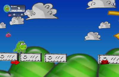 Screenshots of the Doodle Monster game for iPhone, iPad or iPod.