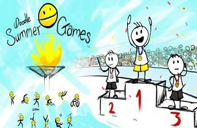 Download Doodle Summer Games iPhone free game.