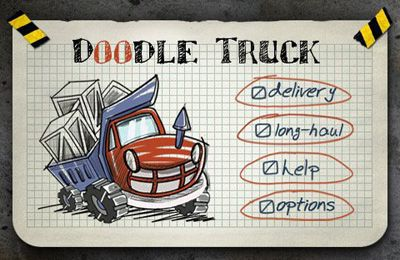 Download Doodle Truck iPhone free game.