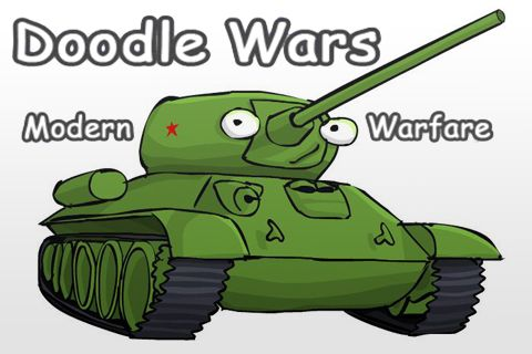 Download Doodle wars: Modern warfare iPhone free game.