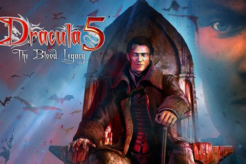 Download Dracula 5: The blood legacy iPhone free game.