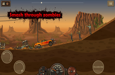 Screenshots of the Earn to Die game for iPhone, iPad or iPod.
