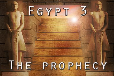 Download Egypt 3: The prophecy iPhone free game.