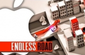 In addition to the game Kung Pow Granny for iPhone, iPad or iPod, you can also download Endless Road for free