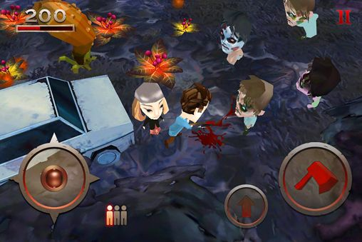Screenshots of the Evil dead game for iPhone, iPad or iPod.