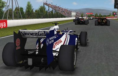 Screenshots of the F1 2011 GAME game for iPhone, iPad or iPod.