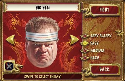 Screenshots of the Face fighter game for iPhone, iPad or iPod.