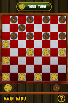 Screenshots of the Fantastic Checkers game for iPhone, iPad or iPod.