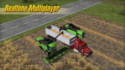 Screenshots of the Farming Simulator 14 game for iPhone, iPad or iPod.