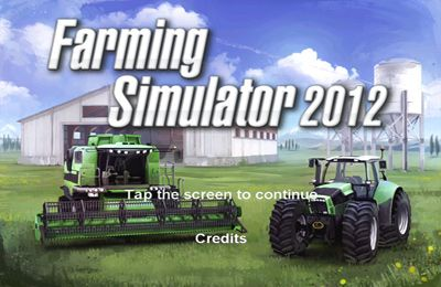 Farming Simulator 2012 - iPhone game screenshots. Gameplay Farming