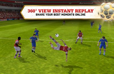 Screenshots of the FIFA 13 by EA SPORTS game for iPhone, iPad or iPod.