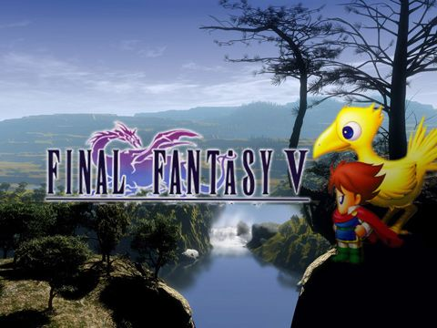 Screenshots of the Final Fantasy V game for iPhone, iPad or iPod.