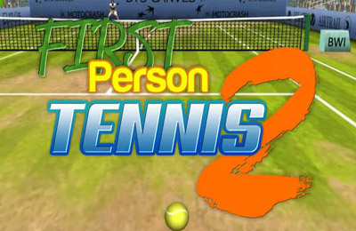Screenshots of the First Person Tennis 2 game for iPhone, iPad or iPod.