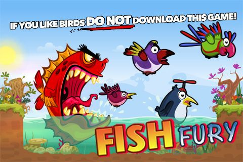 Download Fish fury iPhone free game.