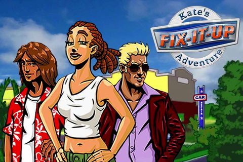 Download Fix-it-up: Kate's adventure iPhone free game.