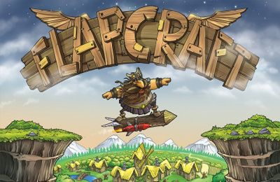 Screenshots of the Flapcraft game for iPhone, iPad or iPod.
