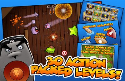 Screenshots of the Flick Buddies game for iPhone, iPad or iPod.