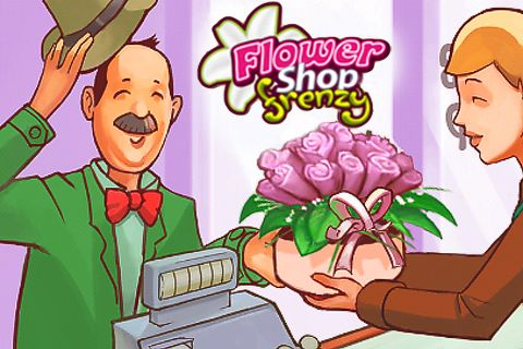 Download Flower shop frenzy iPhone free game.