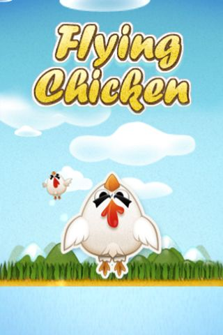 Download Flying chicken iPhone free game.