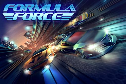 Screenshots of the Formula force game for iPhone, iPad or iPod.