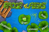 In addition to the game AVP: Evolution for iPhone, iPad or iPod, you can also download Frogs vs. Pests for free