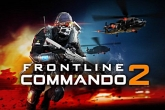 In addition to the game Ninja Slash for iPhone, iPad or iPod, you can also download Frontline commando 2 for free