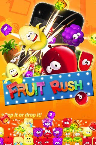 Download Fruit rush iPhone free game.