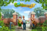 Download Gardenscapes 2 iPhone, iPod, iPad. Play Gardenscapes 2 for iPhone free.