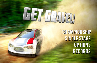 Screenshots of the Get Gravel! game for iPhone, iPad or iPod.