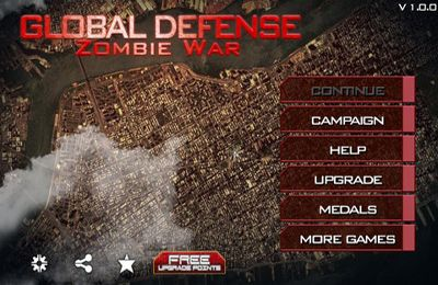 Download Global Defense: Zombie World War iPhone free game.