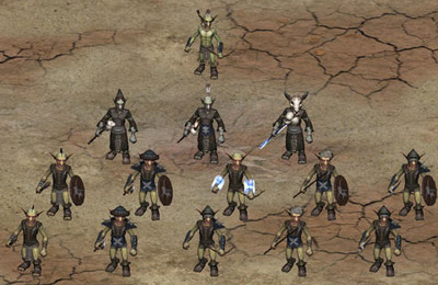 Screenshots of the Goblin Wars game for iPhone, iPad or iPod.