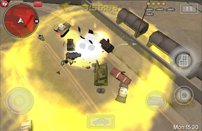 Screenshots of the Grand Theft Auto: CHINAtown Wars game for iPhone, iPad or iPod.
