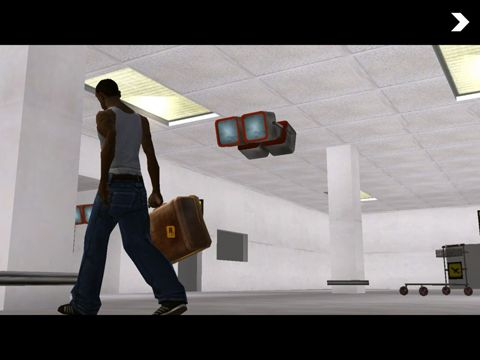 Screenshots of the Grand Theft Auto: San Andreas game for iPhone, iPad or iPod.