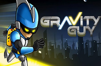 Screenshots of the Gravity Guy game for iPhone, iPad or iPod.