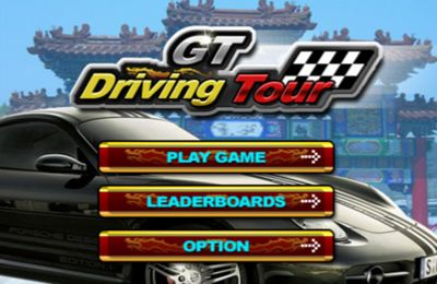 Screenshots of the GT Driving Tour game for iPhone, iPad or iPod.