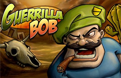 Screenshots of the Guerrilla Bob game for iPhone, iPad or iPod.