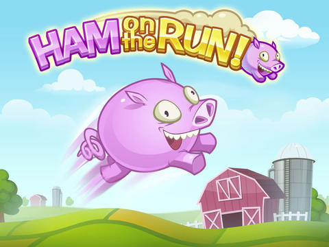 Download Ham on the Run! iPhone free game.