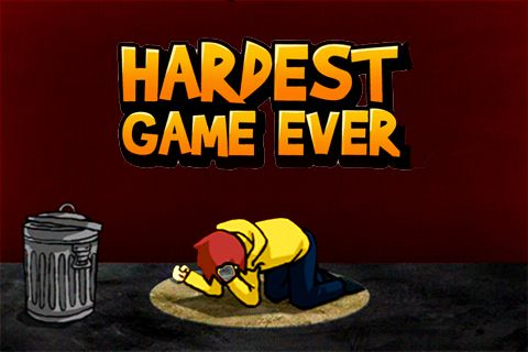 Screenshots of the Hardest game ever game for iPhone, iPad or iPod.