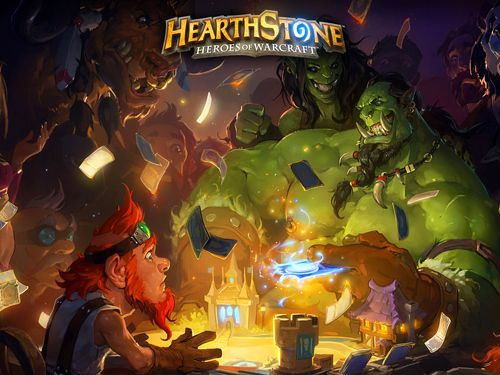 Screenshots of the Hearthstone: Heroes of Warcraft game for iPhone, iPad or iPod.