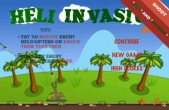 In addition to the game Angry Birds for iPhone, iPad or iPod, you can also download HeliInvasion for free