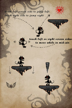 Screenshots of the HellJump 2: New Adventures game for iPhone, iPad or iPod.