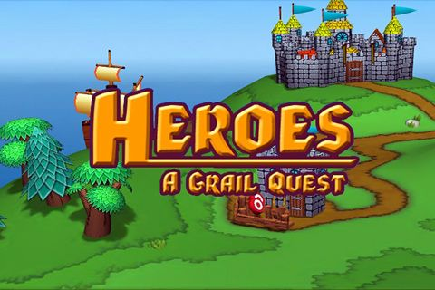 Download Heroes: A Grail quest iPhone free game.