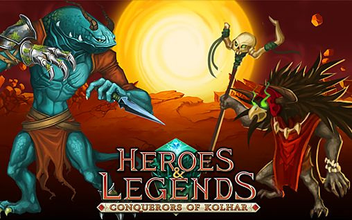 Download Heroes & legends: Conquerors of Kolhar iPhone free game.