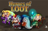 In addition to the game Monster jam game for iPhone, iPad or iPod, you can also download Heroes of Loot for free