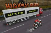 In addition to the game Kick the Buddy: No Mercy for iPhone, iPad or iPod, you can also download Highway Rider for free