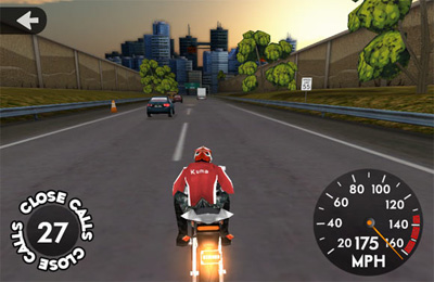 Screenshots of the Highway Rider game for iPhone, iPad or iPod.