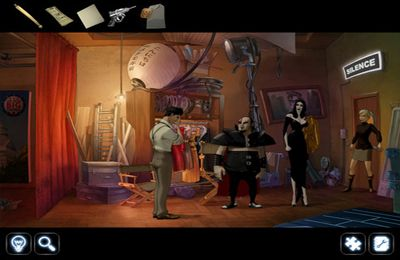 Screenshots of the Hollywood Monsters game for iPhone, iPad or iPod.