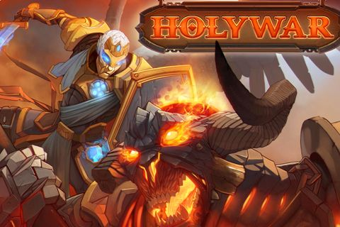 Download Holy war iPhone free game.