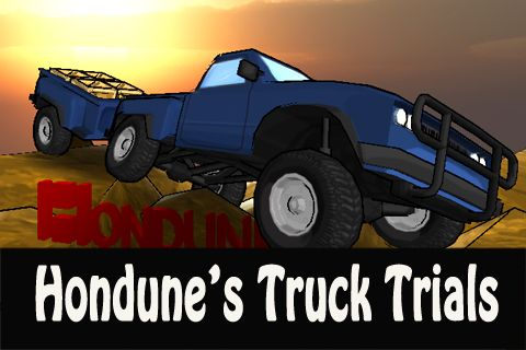 Download Hondune's truck trials iPhone free game.