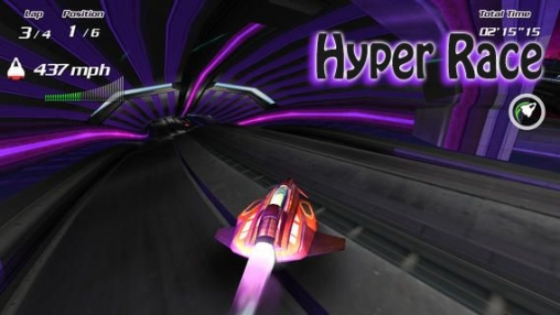 Download Hyper race iPhone free game.